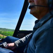 Gérard, un des pilotes du jour...