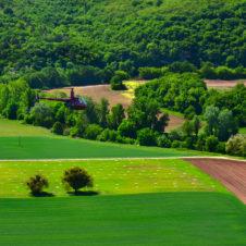 Une région riche et verdoyante